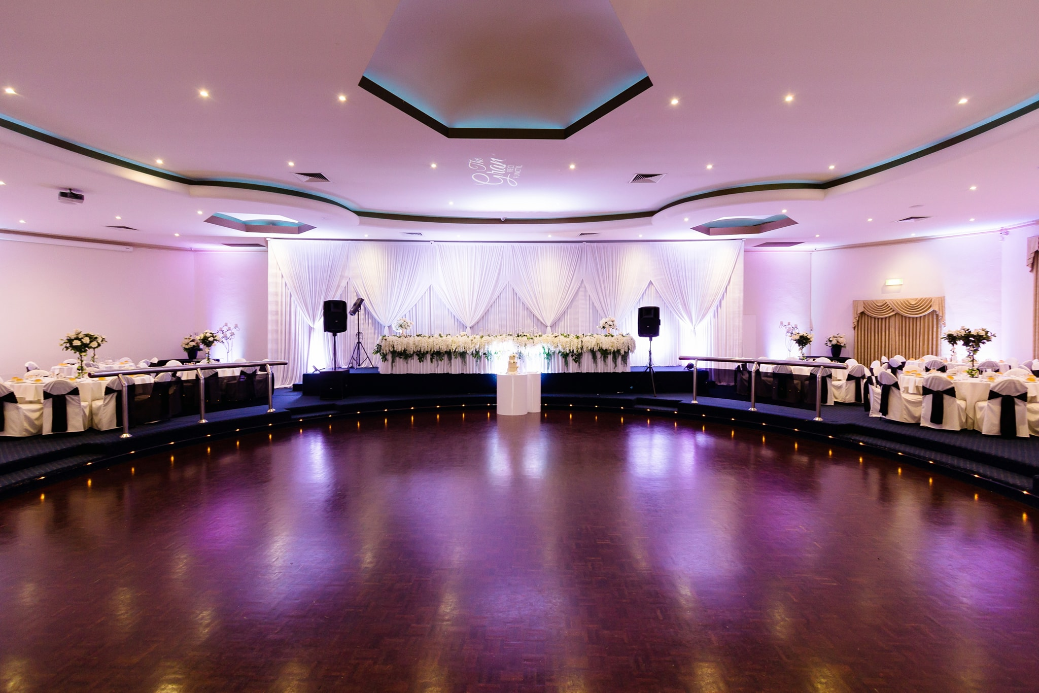 Nazreen and Kamal wedding venue